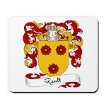 Rault Family Crest Mousepad