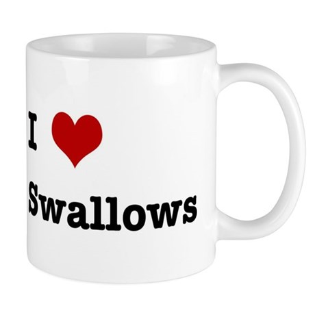 I love Cliff Swallows Mug