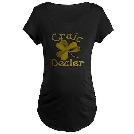 Craic Dealer Maternity Dark T-Shirt