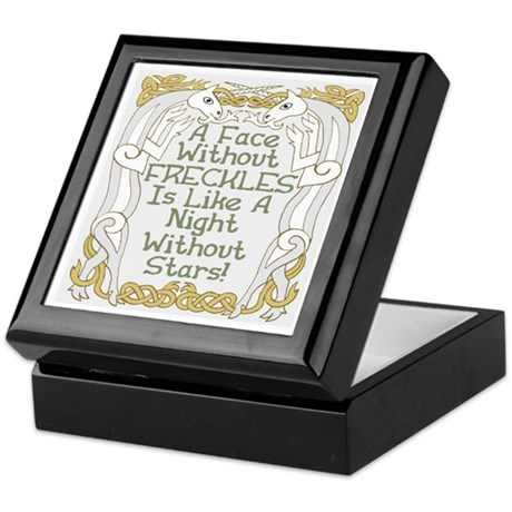 Without Freckles Keepsake Box