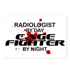 Radiologist Cage Fighter by Night Postcards (Packa