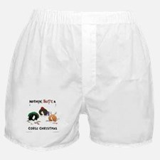 Nothin' Butt A Corgi Xmas Boxer Shorts