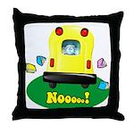 Noooo! Throw Pillow