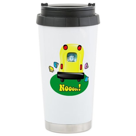 Noooo! Stainless Steel Travel Mug
