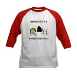 Nothin' Butt A Cocker Xmas Kids Baseball Jersey
