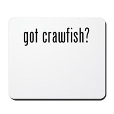 got crawfish Mousepad