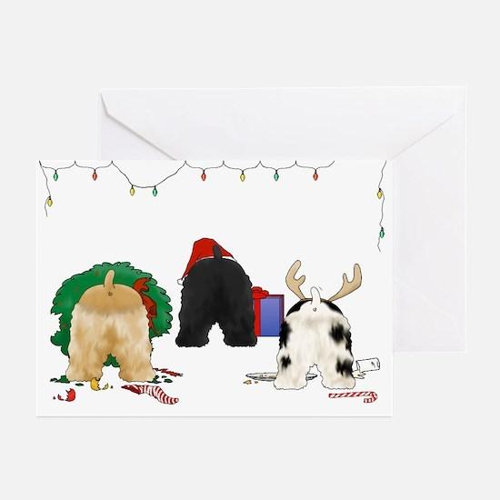 Cocker Christmas Greeting Cards (Pk of 10)