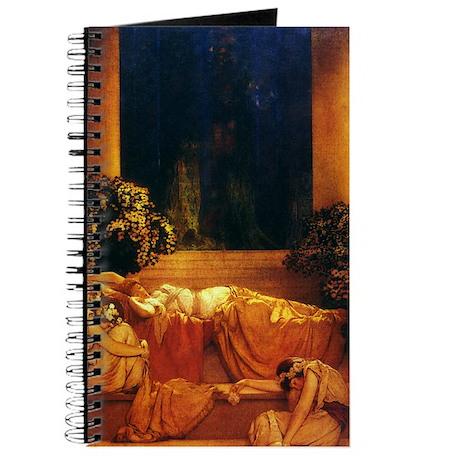 Maxfield Parrish Sleeping Beauty Journal
