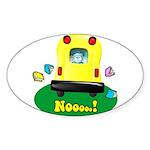 Nooooo! Oval Sticker (10 pk)