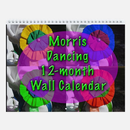 Morris Dancer's 12-photo Wall Calendar