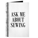 Sew - Ask Me About Sewing Journal