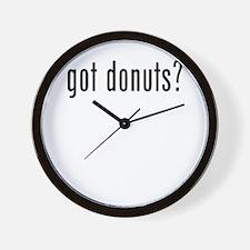 got donuts Wall Clock