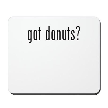 got donuts Mousepad