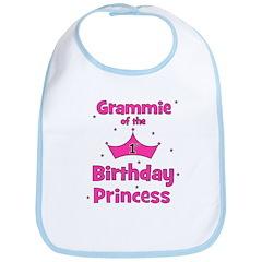 Grammie 1st Birthday Princess Bib