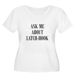 Yarn - Ask Me About Latch-Hoo T-Shirt