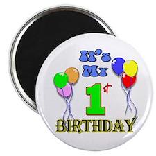 It's My 1st Birthday Magnet