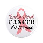 "Endometrial Awareness 3.5"" Button"