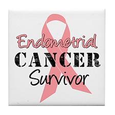 Endometrial Awareness Tile Coaster
