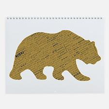 International Bear Wall Calendar