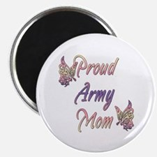 "Proud Army Mom 2.25"" Magnet (10 pack)"