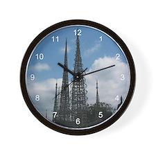 Watts Tower Wall Clock