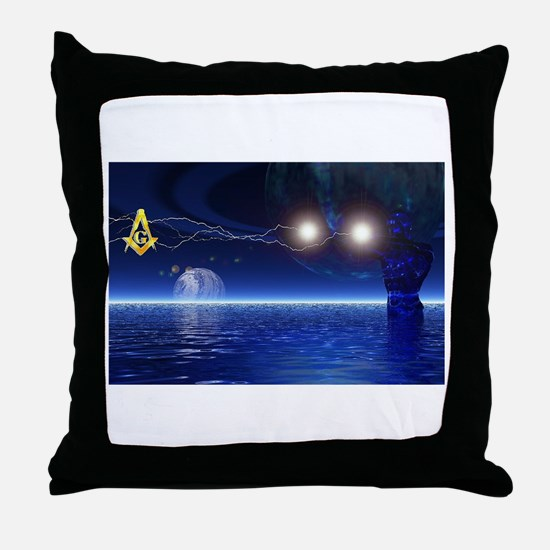 Magic Happens Throw Pillow