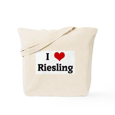 I Love Riesling Tote Bag