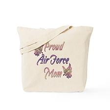 Proud Air Force Mom Tote Bag