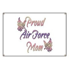 Proud Air Force Mom Banner