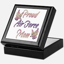 Proud Air Force Mom Keepsake Box