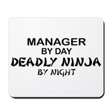 Manager Deadly Ninja by Night Mousepad