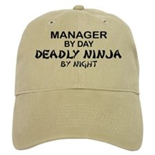 Manager Deadly Ninja by Night Baseball Cap