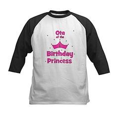 Ota of the 1st Birthday Princ Kids Baseball Jersey