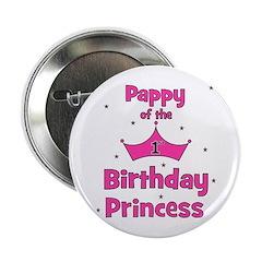 "Pappy of the 1st Birthday Pri 2.25"" Button"