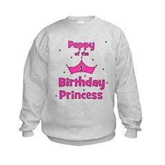 Pappy of the 1st Birthday Pri Sweatshirt