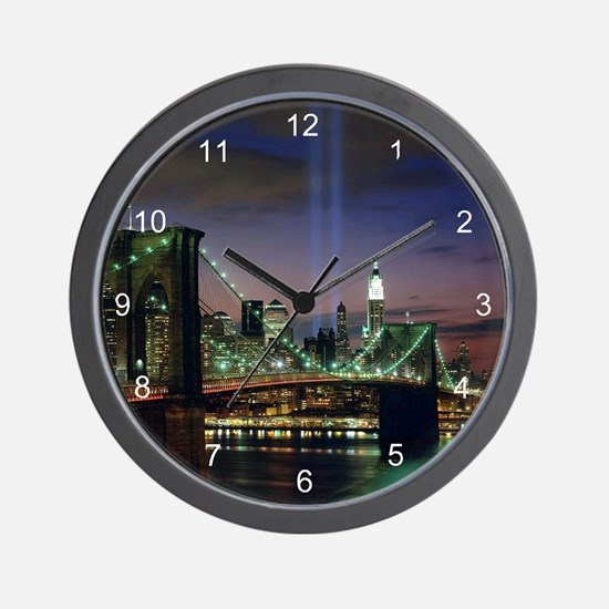 Tribute In Light Wall Clock