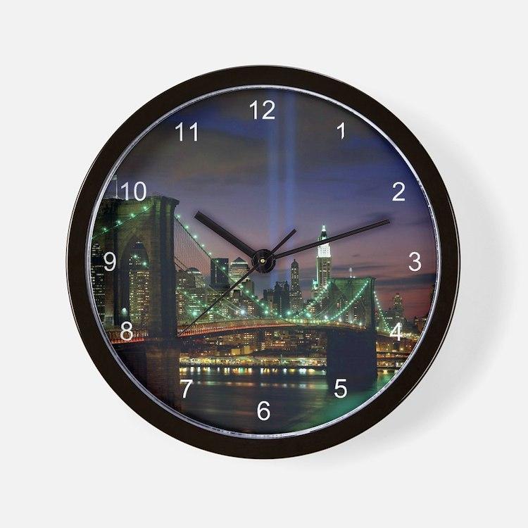 New York City Clocks New York City Wall Clocks Large, Modern, Kitchen Clocks