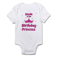 Uncle of the 1st Birthday Pri Infant Bodysuit