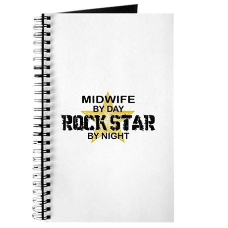 Midwife Rock Star by Night Journal
