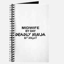 Midwife Deadly Ninja by Night Journal