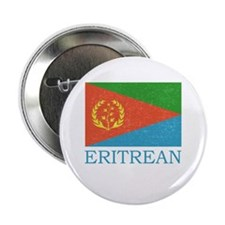 "ERITREAN FLAG 2.25"" Button"
