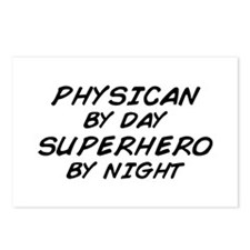 Physician Superhero by Night Postcards (Package of