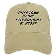 Physician Superhero by Night Baseball Cap