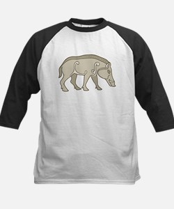 Pictish Boar Kids Baseball Jersey