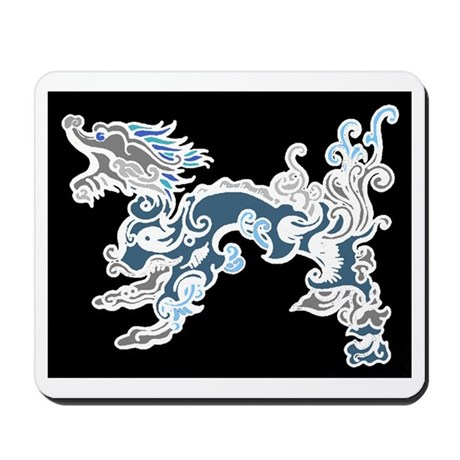 Old Air Dragon Mousepad