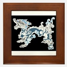 Old Air Dragon Framed Tile