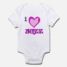 I Love Jazz Infant Bodysuit