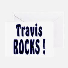 Travis Rocks ! Greeting Cards (Pk of 10)