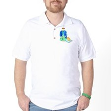 Pom Sitting w/Handler T-Shirt