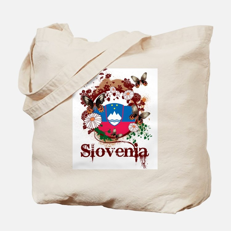 Butterfly Slovenia Tote Bag